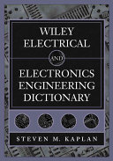 Wiley Electrical And Electronics Engineering Dictionary Book PDF