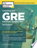 Cracking the GRE Chemistry Subject Test