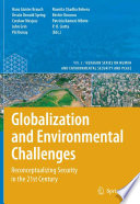 Globalization And Environmental Challenges Book