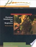 Christian Meditation for Beginners