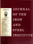Pdf The Journal of the Iron and Steel Institute