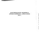 Electromagnetic Methods in Applied Geophysics Book