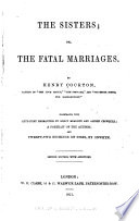 The Sisters Or The Fatal Marriages