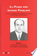 Ill-Posed and Inverse Problems