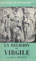 La religion de Virgile ebook