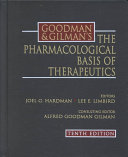 Goodman   Gilman s the Pharmacological Basis of Therapeutics Book