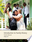 Introduction to Family History Teacher Manual Book