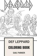 Def Leppard Coloring Book