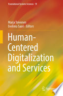 Human Centered Digitalization And Services Book