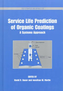 Service Life Prediction of Organic Coatings Book