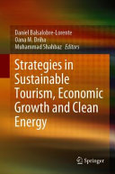 Strategies in Sustainable Tourism  Economic Growth and Clean Energy Book
