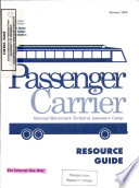 Passenger Carrier  Resource Guide