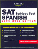Kaplan SAT Subject Test: Spanish