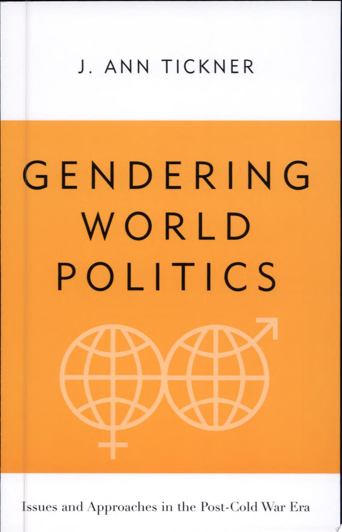 Gendering World Politics