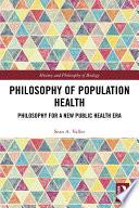 Philosophy Of Population Health PDF