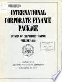 International Corporate Finance Package