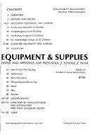 Equipment   Supplies