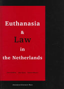 Euthanasia and Law in the Netherlands