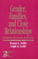 Gender  Families and Close Relationships