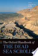 The Oxford Handbook of the Dead Sea Scrolls Book