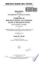 Merchant Marine Drug Testing