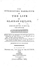 Pdf The Interesting Narrative of the Life of Olaudah Equiano, or Gustavus Vassa, the African ... Second edition. With a portrait