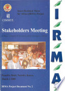 Stakeholders Meeting: Insect Resistant Maize for Africa (IRMA) Project