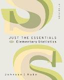 Just the Essentials of Elementary Statistics