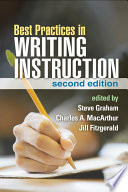 Best Practices in Writing Instruction  Second Edition Book