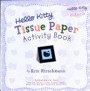 Hello Kitty tissue paper activity book