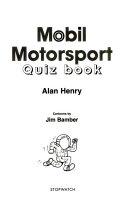 Mobil Formula 1 Motorsport Quiz Book