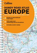 Road Atlas Europe 2021 Handy  A5 Spiral  Collins Road Atlas