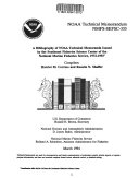 A Bibliography of NOAA Technical Memoranda Issued by the Southeast Fisheries Science Center of the National Marine Fisheries  1972 1993