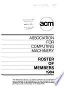 Roster of Members