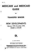 Medicare and Medicaid Guide, Transfer Binder