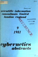 Cybernetics Abstracts Book