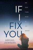 Pdf If I Fix You