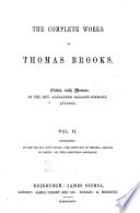 The Complete Works Of Thomas Brooks Book PDF