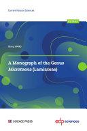 A Monograph of the genus Microtoena  Lamiaceae