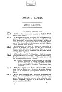 Calendar of State Papers: Preserved in the State Paper ...