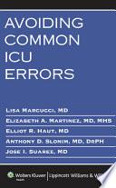 Avoiding Common Icu Errors Book PDF