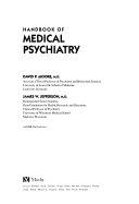 Handbook of Medical Psychiatry