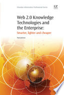 Web 2 0 Knowledge Technologies and the Enterprise