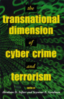 The Transnational Dimension of Cyber Crime and Terrorism Pdf/ePub eBook
