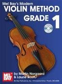 Modern Violin Method, Grade 1