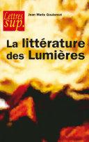Pdf La littérature des Lumières Telecharger
