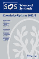 Science of Synthesis Knowledge Updates 2013 Vol  4