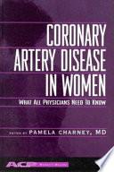 Coronary Artery Disease in Women Book