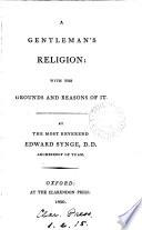 A Gentleman s Religion Book