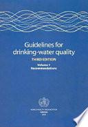 """""""Guidelines for Drinking-water Quality"""" by Organisation mondiale de la santé, Anonimo, WHO-Work programme, Światowa Organizacja Zdrowia, World Health Organization, WHO, World Health Organisation Staff"""